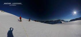 Skitour bei besten Verhältnissen auf den Großvenediger mit dem Bergführer von Alpindis.at (Obersulzbachtal, Nationalpark Hohe Tauern, Neukirchen am Großvenediger, Salzburgerland)