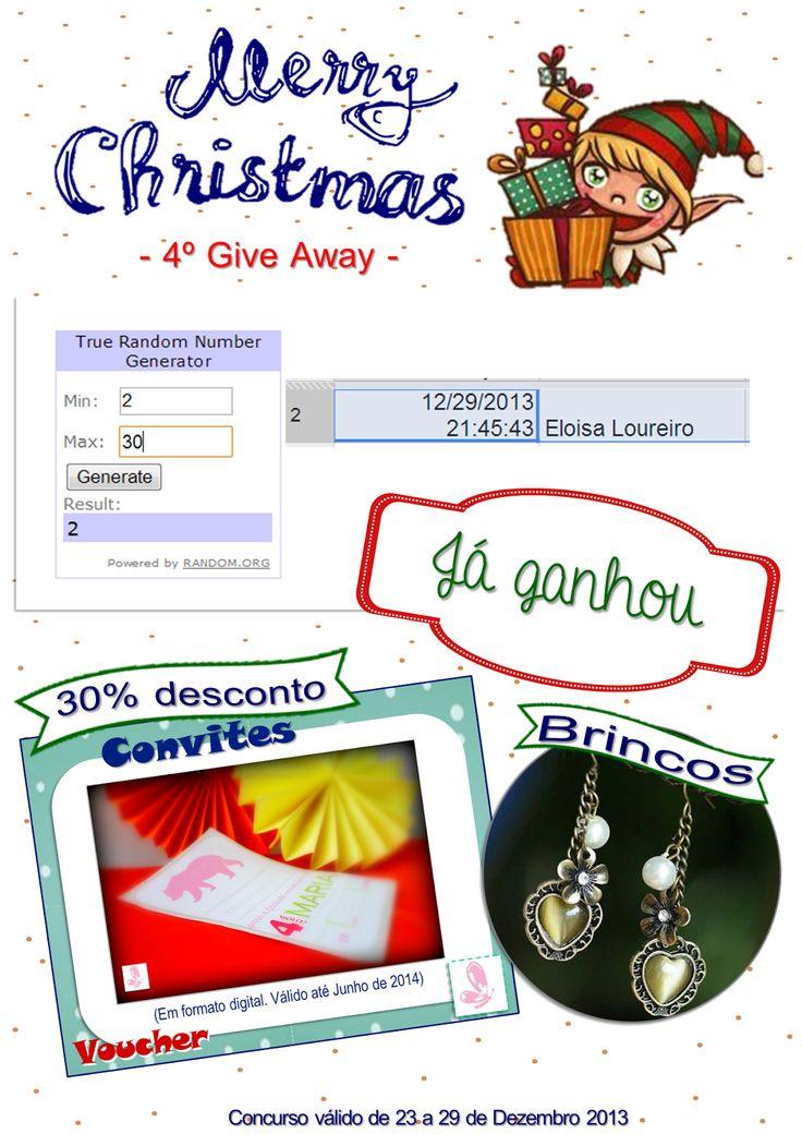 And the winner is... Read more: http://eraumavez-osonhoperfeito.blogspot.pt/2013/12/vencedor-do-4-concurso-era-uma-vez-4.html