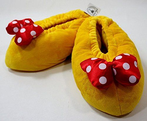 Disney Parks Minnie Mouse Heel Slippers (Adult - Small)