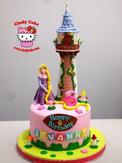 Happy birthday cake for your baby doll.