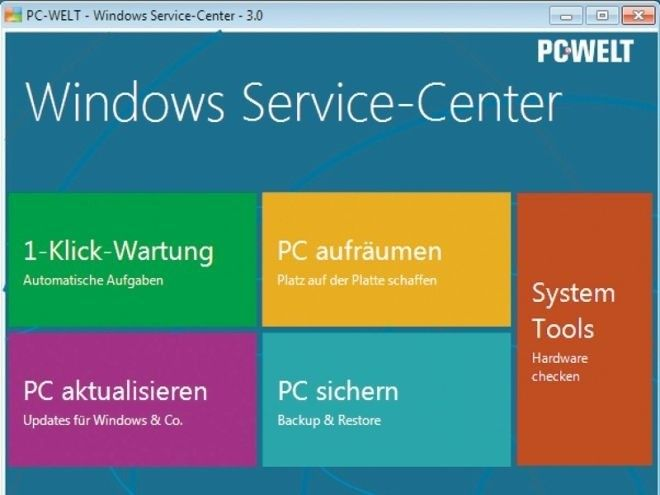 PC-WELT Windows Service-Center