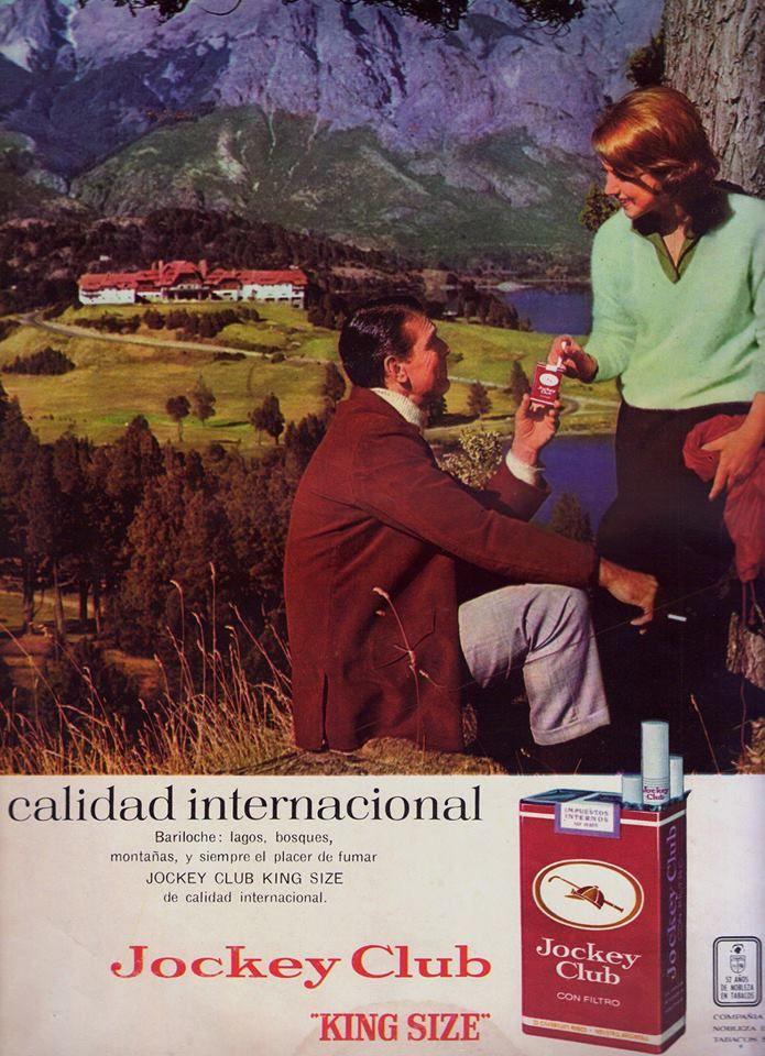 Cigarrillos JOCKEY CLUB, 1965.