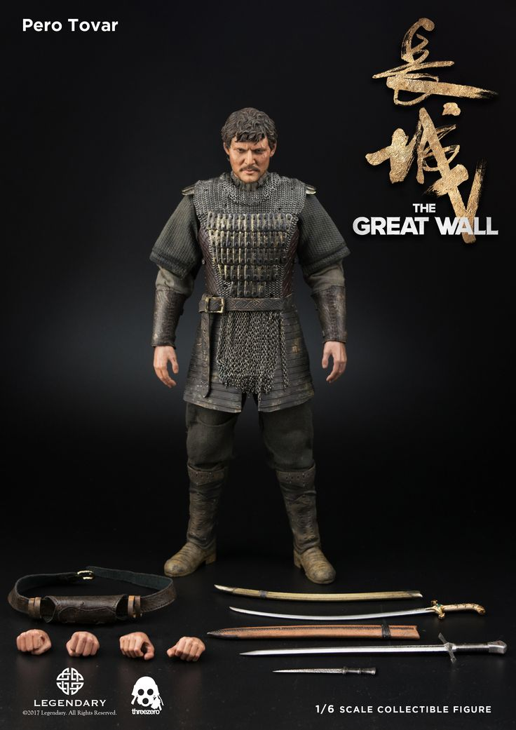 1/6th scale The Great Wall Pero Tovar pre-order info added to our Facebook page: https://www.facebook.com/media/set/?set=a.1724924640866690.1073741984.697107020315129&type=1&l=f417002334 #threezero #TheGreatWall #PeroTovar #onesixthscale #actionfigure #actionfigures #toy #toys #collectible #collectibles