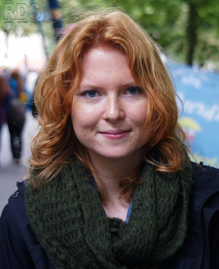 Blue eyed girl @ Redhead Days 2015 #Redhead #Days #Ginger #Gathering #Portrait #Breda #Netherlands