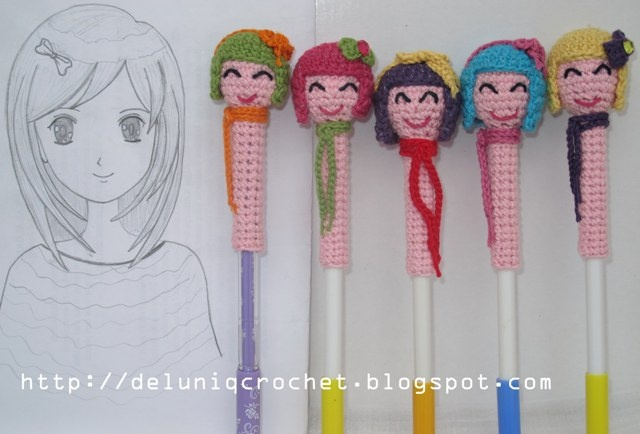 Girly pencil accesories