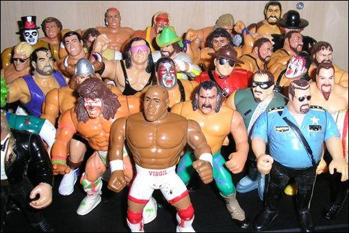Figurines d'action des superstars adultes