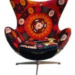 One of a Kind Collection - modern upholstered armchairs