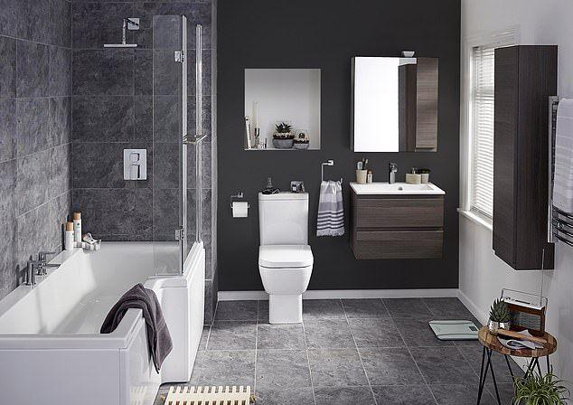 Revealed The Four Different Ways To Do Moody Black Interiors Big Bathrooms Bathroom Design Software Bathroom Suites