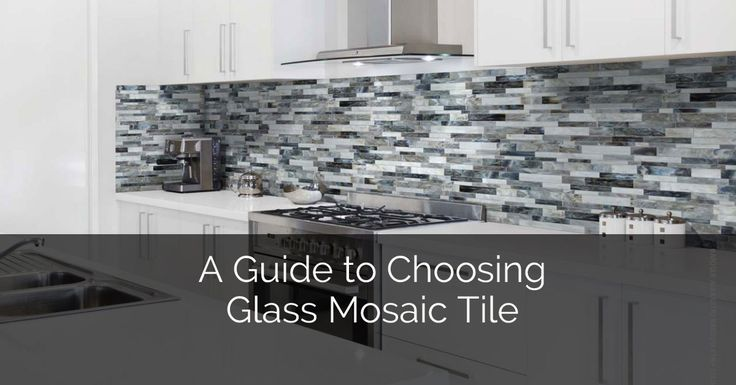 A GUIDE TO CHOOSING GLASS MOSAIC TILE     Mosaic tiles have the power to transform a plain surface into an artistic masterpiece popping with boldness and style. Whether it's your kitchen or bathroom suffering from a blah look, mosaic tile is exactly what you