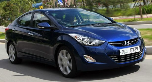 Hyundai Elantra 2012 North American Car of the Year.  Enjoyed being a small part of the US launch - no asterisks.