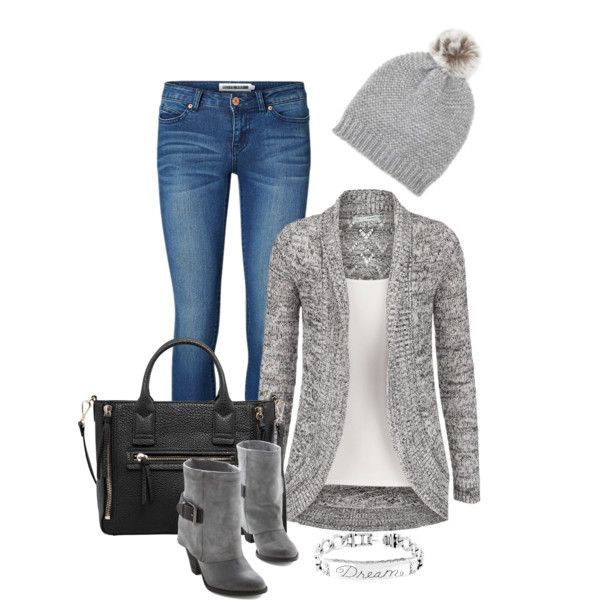 A fashion look from November 2014 featuring Vero Moda jeans, MANGO tote bags and Forever 21 hats. Browse and shop related looks.