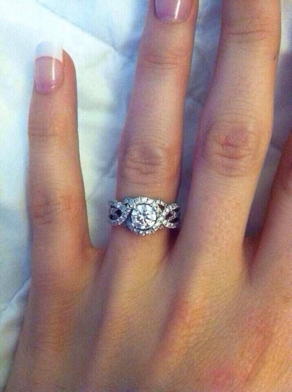 Of all the rings I have seen. This one is perfect! - Hillary
