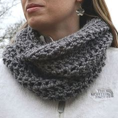 """Accidental Cowl""...LOVE this!! Just made one yesterday... it was super quick & turned out so cute!!!"