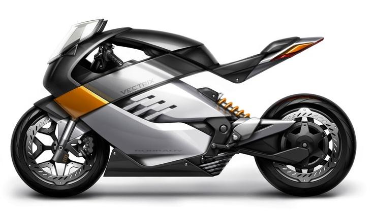 Le Vectrix Robrady Rmoto, un concept de Superbike électrique original /// Vectrix Robrady Rmoto, a concept of electric superbike really original