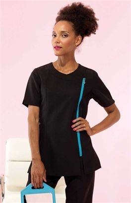 The 'Carmellia' beauty and spa tunic from Premier Clothing