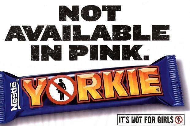 Yorkie Chocolate Bar Advert