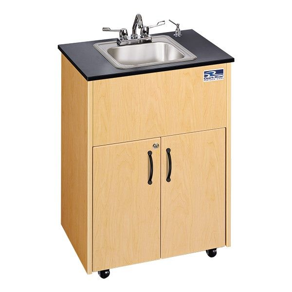 Ozark River Manufacturing Co Portable Hand Washing Station W Stainless Steel Basin In 2020 Portable Sink Portable Sinks Sink