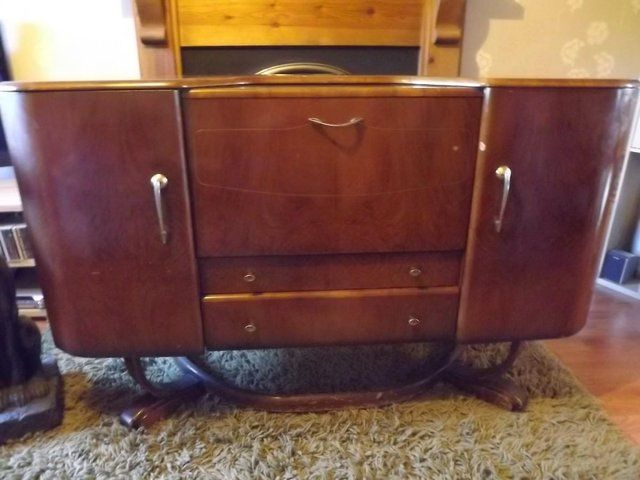 Original Unrestored Vintage Beautility Artdeco Sideboard