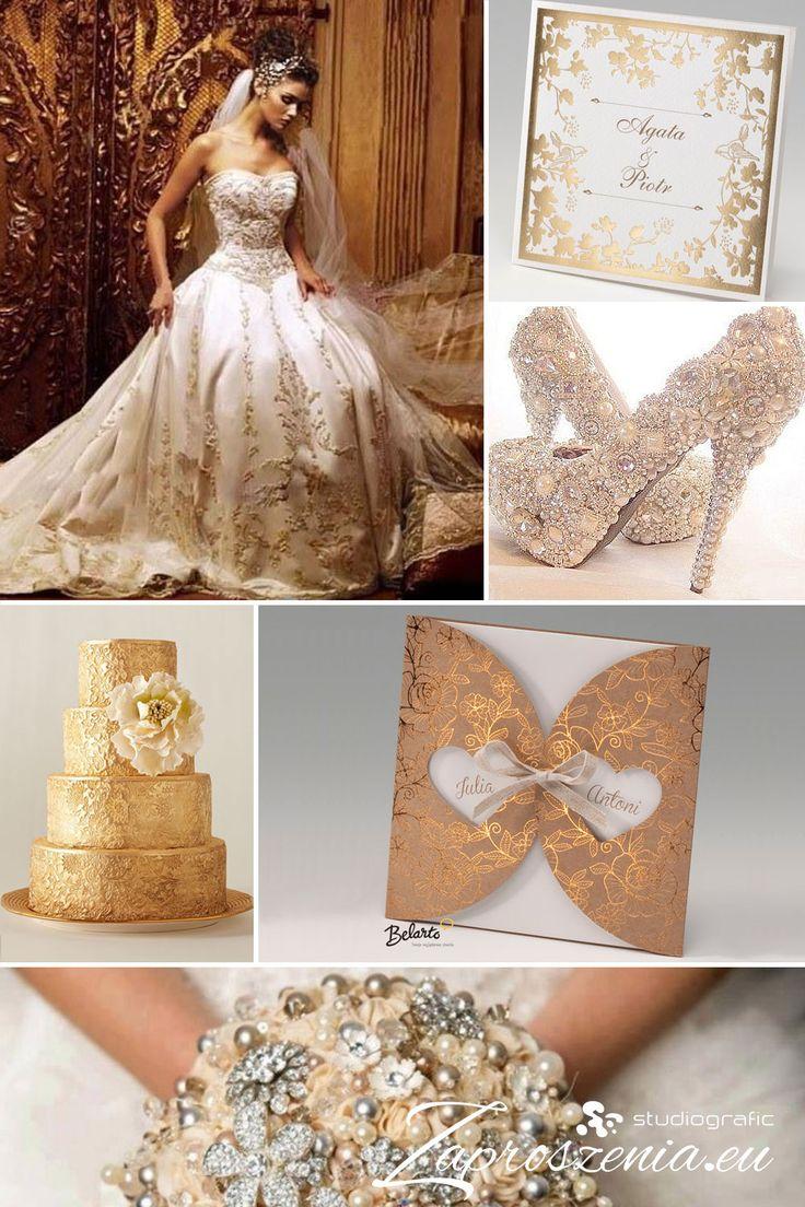 Zaproszenia ślubne w bogatej oprawie dostępne na zaproszenia.eu