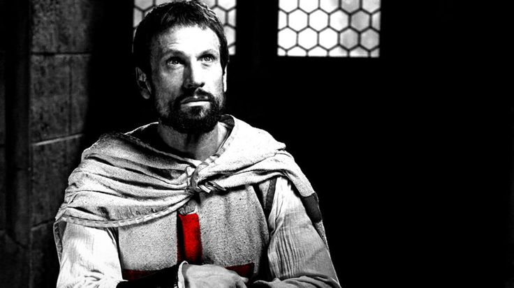 Simon Merrells as Tancrede - History Channel's Knightfall