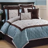 Found it at Wayfair - Victoria Classics  Alexandria 8 Piece Comforter Set