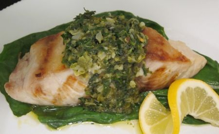 Receta de pescado en salsa verde