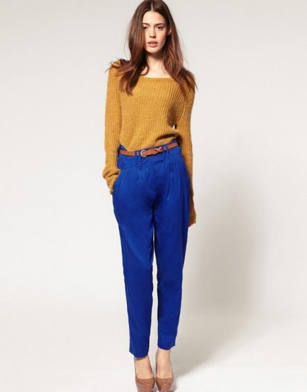Que Colores Combinar Con Un Pantalon Azul Electrico Pantalones Azul Electrico Pantalon Azul Pantalon Azul Rey