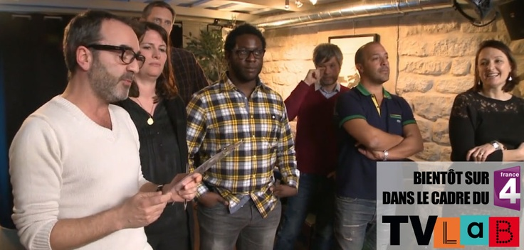 Le Jury Du TV LAB de France 4 !