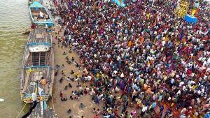 Godavari River in Rajahmundry, Andhra Pradesh