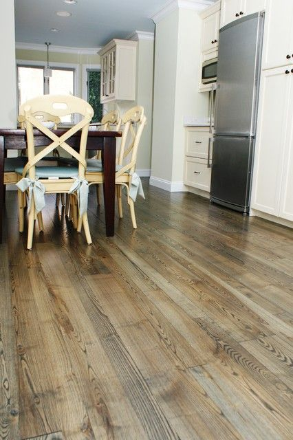 Natural Ash Wood Flooring Contemporary