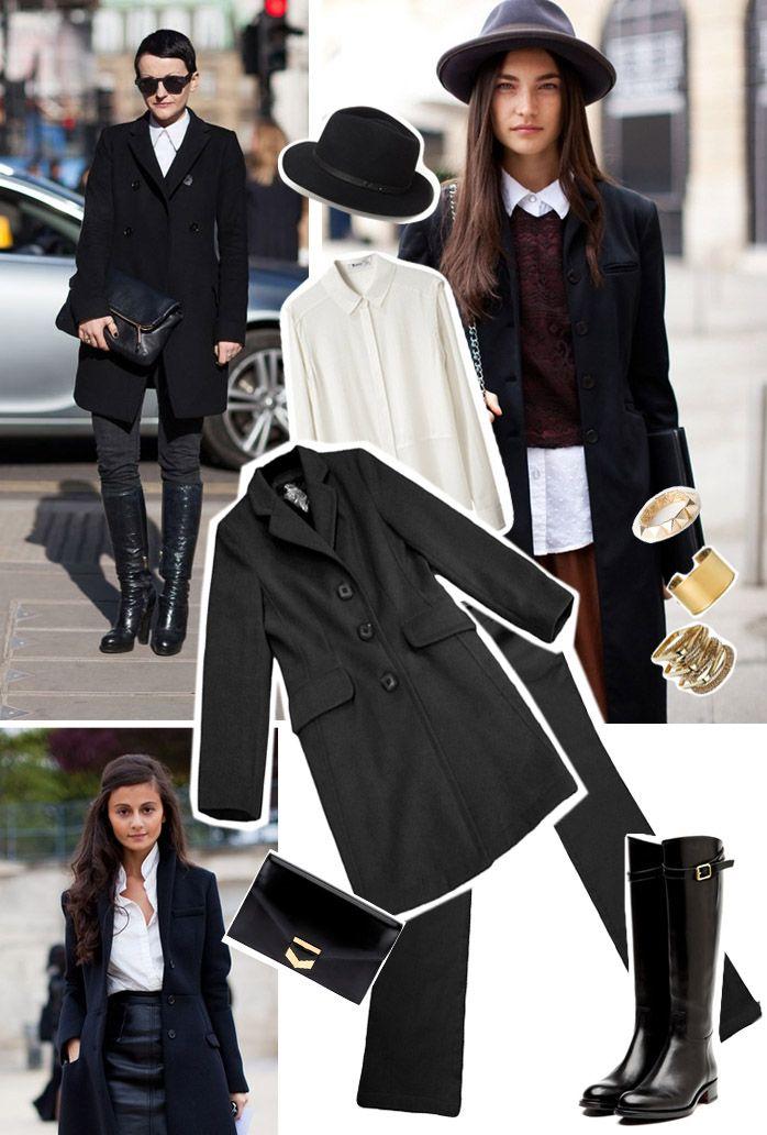Arma el Look con Bizarre:   Abrigo:$240.000 Camisa blanca: $106,000 Pantalón: $119.900