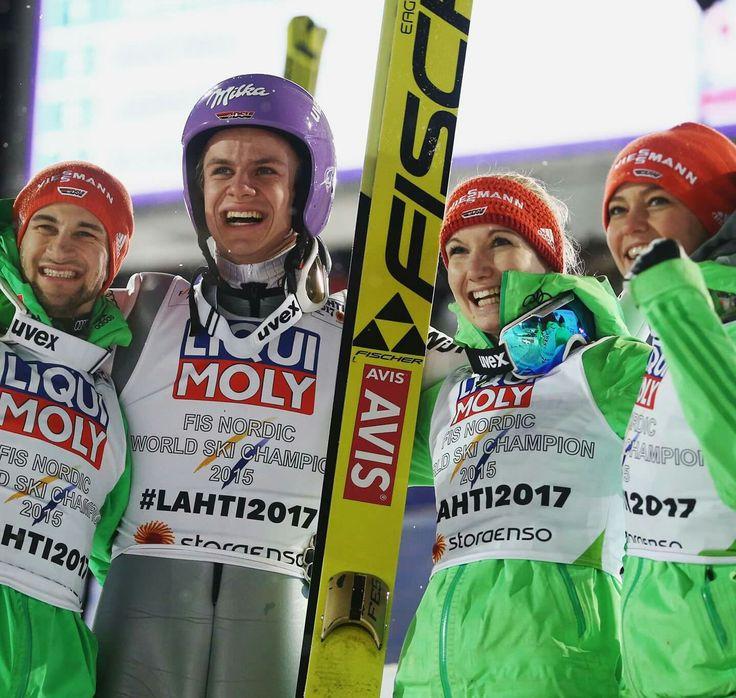 Weltmeister im Mixed bei der WM in Lahti 2017