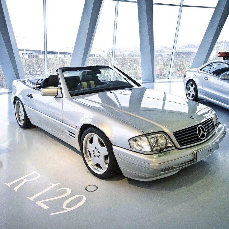 """Mercedes SL R129  on Instagram: """"Museum quality. #R129 #SL #MercedesBenz #Mercedes #Benz #ClassicMercedes #ClassicBenz #MBphoto #MercedesSL #Mercedes_Benz #SL500 #SL320…"""""""