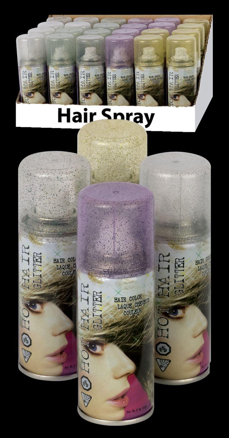 Glitter Hair Spray
