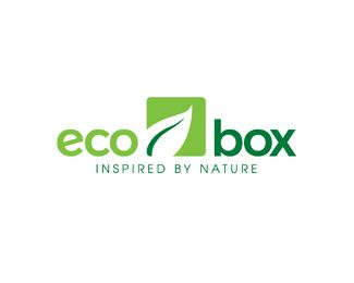 eco box Logo design - Great logo brand for manufacture or/and sell environmentally friendly boxes. (bio container) <br /> Price $250.00