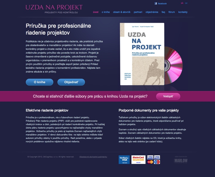 Web design - Project management book