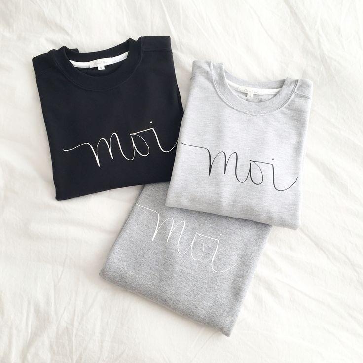 The Untitled Shop: Moi sweatshirts #iwearmoi #theuntitledshop #fashion #fashiondiaries #lookbook #mystyle #ootd #outfit #ootdwatch #style #stylegram #styleinspo #streetlook #streetstyle #streetfashion #wiwt #whatiwore #calligraphy #moderncalligraphy #sweatshirt