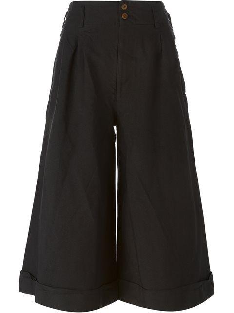 COMME DES GARÇONS wide leg culottes. #commedesgarçons #cloth #culottes