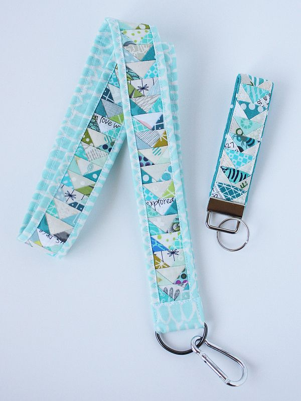 Tiny Geese Lanyard Tutorial also Keychain pattern
