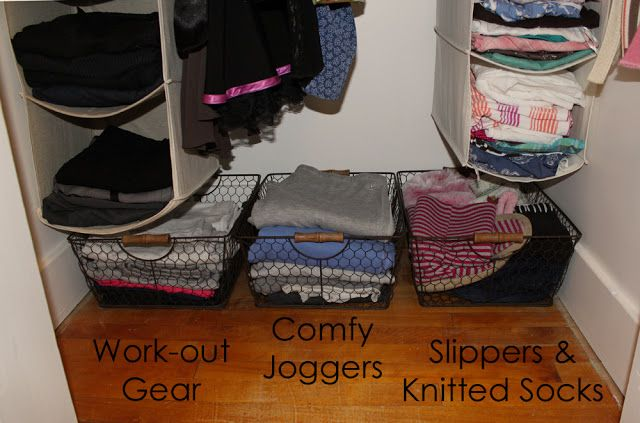 Small Closet Organization - simple, easy to use tips.
