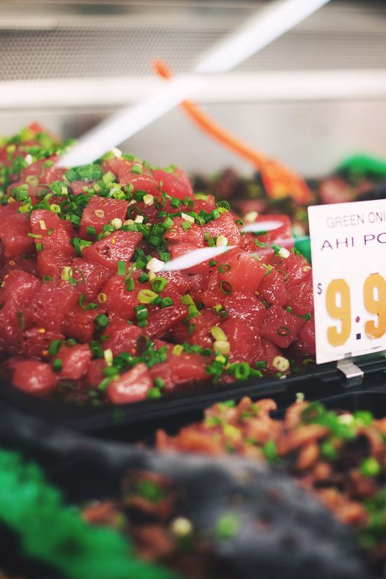 ahi poke = magic in your mouth. This looks amazing.