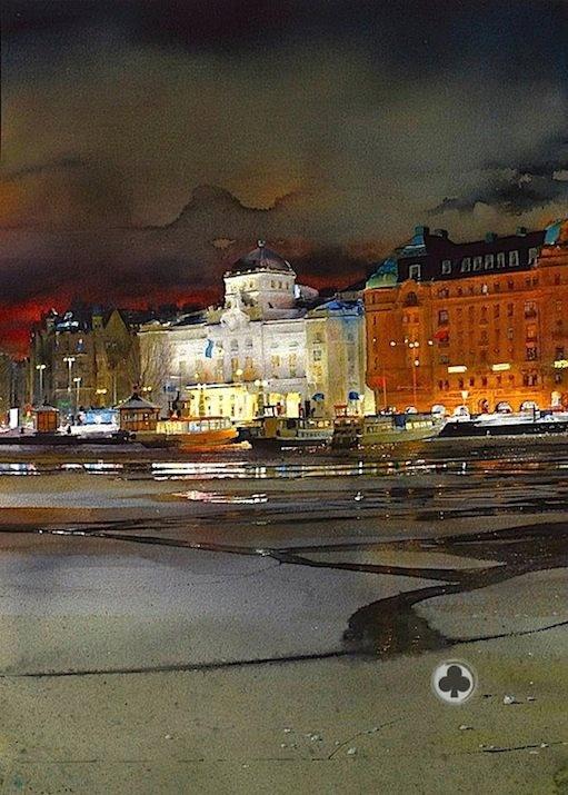 Artist- Stanislaw Zoladz -water-colour