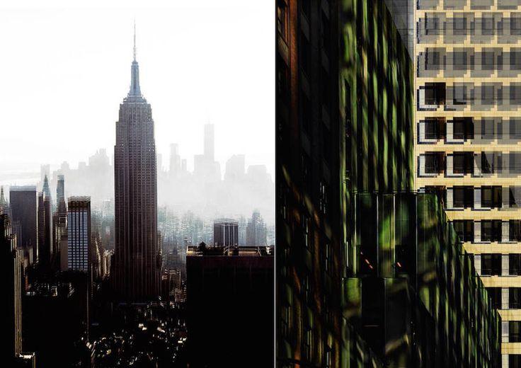 Espace urbain au cœur de Manhattan
