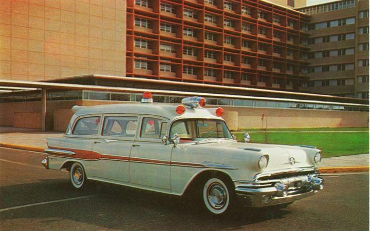 Superior Pontiac Ambulance 1957 Vintage Ambulances