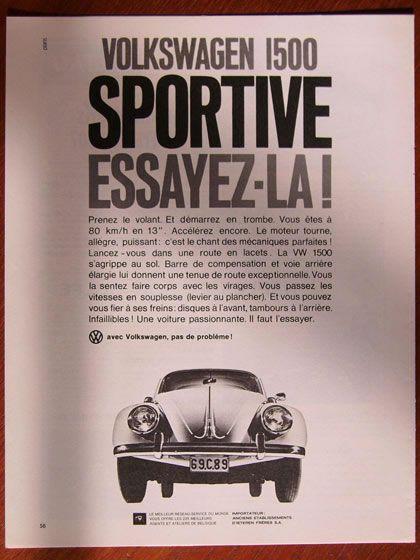 50 vieilles publicités Volkswagen: