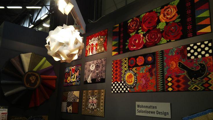 More colourful rugs - Wohmatten Salonloewe Design [#maisonobjet September 2013]