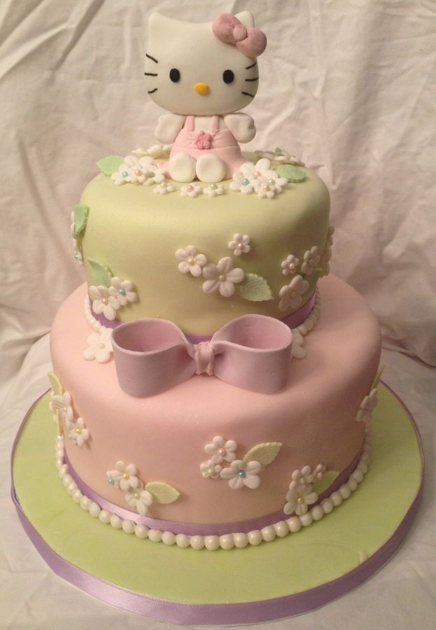 Hello Kitty Icing Cake Design : 1000+ ideas about Hello Kitty Cake on Pinterest Kitty ...