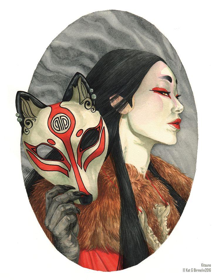 Kitsune by KittyScribbles