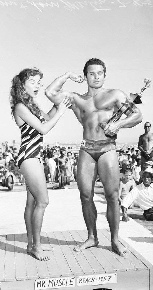 5c2918aab1 History of Muscle Beach (Part 1 | Muscle Beach, California | Muscle beach,  Muscle, Mr muscle