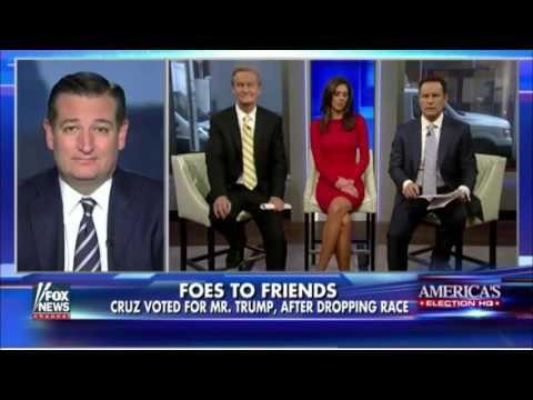 FULL Ted Cruz SLAMS the hypocrisy of Democrats over President Elect Donald Trump's big win! - YouTube